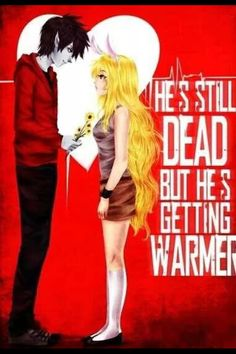 Marshal Lee and Fionna crossover from Warm Bodies <3