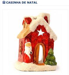Casinha decorativa para o natal!