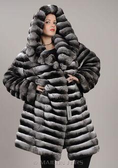 MAILON FURS - Hooded Empress chinchilla fur coat - Women - MAILON FURS1125 x 1600292.2KBwww.mailonfurs.com