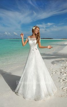 Alluring Lace Off-the-shoulder Neckline A-line Wedding Dresses With Lace Appliques. Alluring Lace Off-the-shoulder Neckline A-line Wedding Dresses With Lace Appliques. V Neck A Line Wedding Dress Wedding Dresses Photos, Dream Wedding Dresses, Designer Wedding Dresses, Wedding Gowns, Wedding Dressses, Lace Weddings, Wedding Attire, Unique Weddings, Bridal Gowns