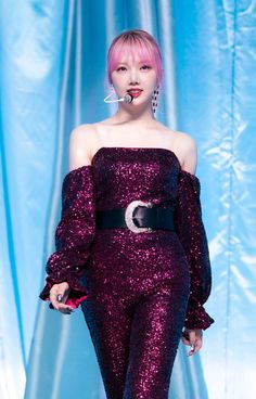 Kpop Girl Groups, Korean Girl Groups, Kpop Girls, Gfriend Yuju, Cloud Dancer, Strapless Dress Formal, Formal Dresses, Stage Outfits, The Most Beautiful Girl
