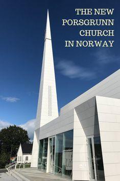 The New Porsgrunn Church In Norway