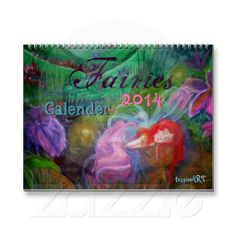 After Christmas #SALE!!!  60%OFF #Fairies #tessieART 2014 #Custom #Printed #Calendar~was  $27.50 #USD~now #ONLY $11 #USD per #Calendar~#tessieART #Store #Zazzle.com~#Promocode: AFTERHOLIDAY (#DirectLink to #Product here): http://www.zazzle.com/fairies_tessieart_2014_custom_printed_calendar-158106195441478818