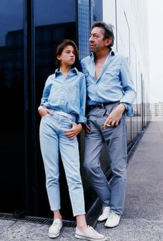 Charlotte and Serge Gainsbourg ...Serge is my DAD ❤❤❤ ❤❤❤ ❤❤❤ ❤❤❤ #music #serge gainsbourg