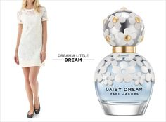Blue skies and blooming daisies inspired Marc Jacobs' new Daisy Dream fragrance