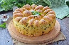 Мобильный LiveInternet Пшеничный хлеб с зеленью и чесноком | Лилёша - Волшебный сундучок |
