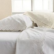 Velvet Lace Flannel Bedding from The Company Store