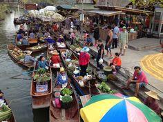 ตลาดน้ำท่าคา ที่ที่ยังเป็นธรรมชาติอยู่มาก