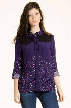 Camisa Texas - Violeta