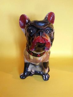 Check out this item in my Etsy shop https://www.etsy.com/listing/262292047/chalkware-bulldog-bank