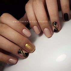 @pelikh_Manicure | Video Tutorials | Art Simple Nail | VK