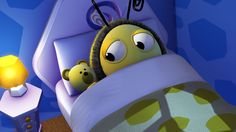 Time for bed Buzzbee..