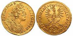 Poland AV 2 Dukaten 1650 Wschowa Mint John II Casimir