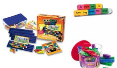 Grammar and sentence construction become high-interest with color-coded, interlocking Reading Rods(R)! Color-coding helps students differentiate the eight most common parts of speech. Students also practice connecting rods to build sentences, identifying R Words, Spelling Words, Decoding Strategies, Sentence Construction, Sentence Building, Word Patterns, High Frequency Words, Prefixes, Word Study