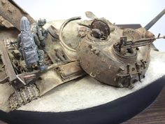 #scale #model #amazing #diorama #rust #dust #iraq #t55 #russian #modern #usarmy #scalemodels #war #iraqi #tank #mbt