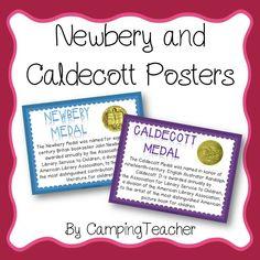 Newbery and Caldecott Posters Freebie