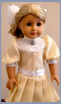 18 inch American Girl Doll Clothing made by on ETSY, using the Liberty Jane Le Marais Coat and the Melody Valerie Schoolgirl Dress patterns. Sewing Doll Clothes, American Doll Clothes, Girl Doll Clothes, Doll Clothes Patterns, Girl Dolls, Doll Patterns, Beautiful Dolls, Beautiful Dresses, American Girl Doll Samantha