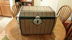 Treasure chest from a cooler
