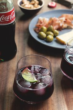 Kalimotxo by HonestlyYUMAdd equal parts Marques de Caceres Red wine and Coca Cola to a glass, add ice and garnish with lime.