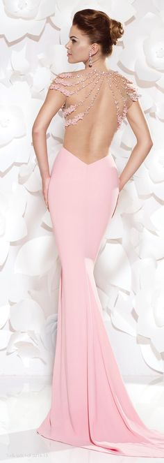 Tarik Ediz 2015 Wowie...this back is spectacular! http://thepageantplanet.com/category/pageant-wardrobe/