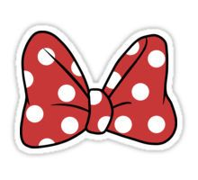 It's Minnie! Sticker