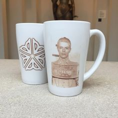 Stop by tonight to get your David Bowie Mug by local artist Cat Clay Memorial Art Gallery, Local Artists, David Bowie, You Got This, Unique Gifts, Clay, Mugs, Store, Instagram Posts