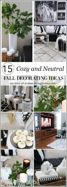 15 Cozy and Neutral