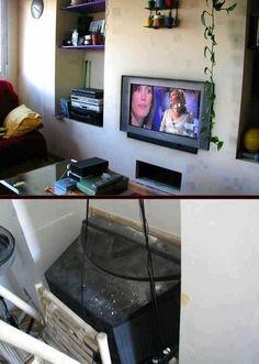 Genius TV set-up