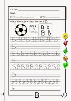 Robson Braga Abrantes: Atividades com a letra B - Ensino Fundamental - Anos Iniciais