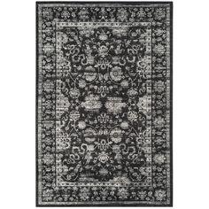 Safavieh Vintage Black & Light Gray Area Rug