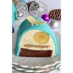 Heavenly flavors - Banana&Chocolate Entremet Cake 🍰 💕😊 #chocolatelover #cakegram #chocolatecake #coffetime #chocoholic #beautiful #banana #dessert #entremet #flavors #perfume #dessert #design #delicious #delight #pastry #pastrylove #pastrylife #fruitcake #yummy #tasty #ontheplate #onthetable Chocolate Lovers, Chocolate Cake, Banana Dessert, Vanilla Cake, Heavenly, Cheesecake, Pudding, Tasty, Perfume