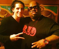 #TeamMassone  Ceelo with James Massone from NBC The Voice