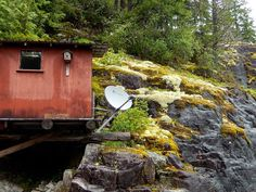 Xplornet Satellite Internet at our off-the-grid float cabin.  Finally high speed connectivity. -- Margy