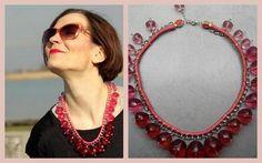 Recyklovaný náhrdelník - fotopostup / jasika » SAShE.sk - slovenský handmade dizajn