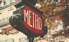 """This was by far my favorite Metro sign that I saw in Paris. It was on the Champs Elysees and had such a great vintage vibe to it."" (From: 33 Picture-Perfect Reasons to Love Paris)"