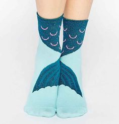 Socks to wear on those pesky feet when you're on land.