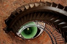 "The Art of Building 2017: Mehmet Yasa's photograph is called ""the eye of the tower"" due to his ingenious positioning of the staircase and bell in this tower in Verona, Italy."