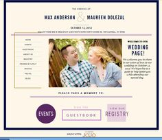 Wedding Website Wows