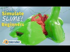 Create a Large SLIME Simulation - Beginner Tutorial - BlenderNation