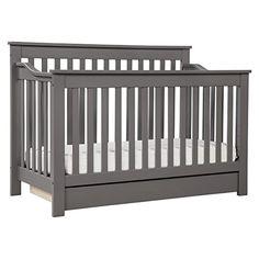 Amazon.com : DaVinci Piedmont 4-in-1 Convertible Crib with Toddler Rail, White : Baby
