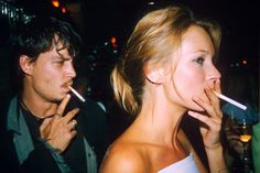 These '90s Photos Of Celebrities Are Just Ridiculous #refinery29  http://www.refinery29.com/2015/08/92489/90s-red-carpet-celebrity-pictures#slide-4  Johnny Depp & Kate Moss, 1995Just smoking a cig at a Versace party in Paris, no big deal....