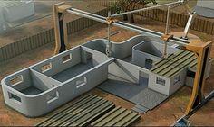 Como construir sua casa em IMPRESSORA 3D em um único dia - Pronta para morar !!! http://www.marciacarioni.info/2014/01/imprima-sua-propria-casa-em-impressa-3d.html