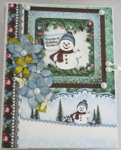 Handgemachtes Weihnachtsalbum-Scrapbook Album -Fotoalbum Snow Kissed von KartengalerieDoris auf Etsy Advent, Scrapbooking Album, Merry Christmas, Holiday Wishes, Our Love, Snow, Forever Young, Awards, Flowers