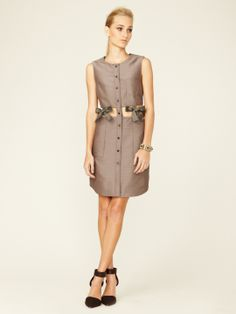 Embroidered Ribbon Cut-Out Dress by 3.1 Phillip Lim at Gilt