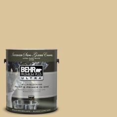 1-Gal. #UL160-6 Straw Basket Interior Semi-Gloss Enamel Paint-375401 at The Home Depot    Potential for my bedroom accent wall.