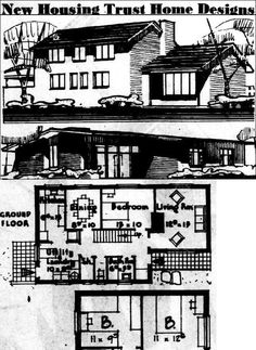Pin On Vintage Home Designs