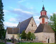 The oldest part of Janakkala Church is believed to be built in the end of the 15th century or in the beginning of the 16th century. It was dedicated to St. Lawrence probably in 1520. It was originally oblong in shape, but was enlarged in 1839-1840, and remodeled using a cruciform plan in 1848-1849. The church has been restored several times. The present belfry was built in 1784.