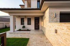 Dream Home Design, Home Design Decor, Modern House Design, Interior Design Living Room, My Dream Home, Exterior Tradicional, Single Storey House Plans, Bedroom House Plans, House Extensions