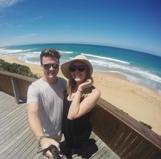 The start of our 2 day Great Ocean Road Tour...Logan's Beach  Warrnambool. In the winter whales come here to nurse their young and in the summer it is a beautifully deserted beach. by kikisue