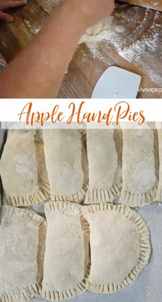 These Old-fashioned Fried Apple Hand Pies are made with homemade apple pie filling, pie crust or refrigerated biscuit dough. Easy to make homemade apple pie filling inside a delicious flaky golden pie crust. These apple hand pies can be made ahead of time and frozen. Fried Peach Pies, Fried Hand Pies, Fried Apple Pies, Apple Hand Pies, Easy Pie Recipes, Pie Crust Recipes, Apple Recipes, Fried Apples Recipe Easy, Homemade Fried Pie Dough Recipe